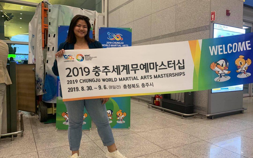 Davaoeña won bronze in 2019 Chungju World Martial Arts Masterships
