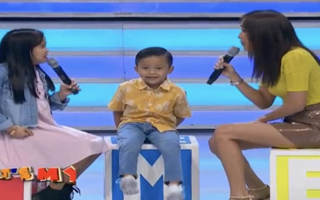 'That's My Boy' contestant wants to defend PH seas from China