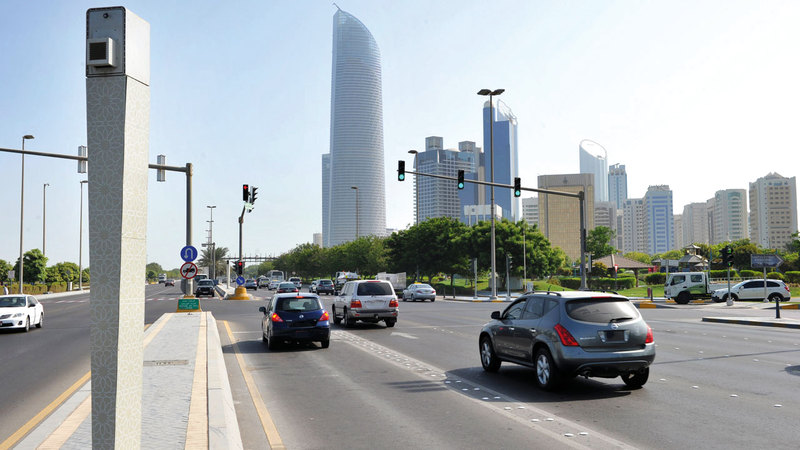 New Abu Dhabi police cameras are just for testing