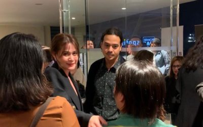 LOOK: Bea Alonzo, John Lloyd Cruz spotted in Makati City