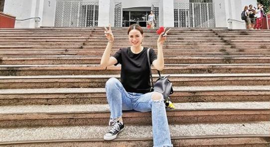 'BTS fever' Arci Muñoz studies Korean language in UP