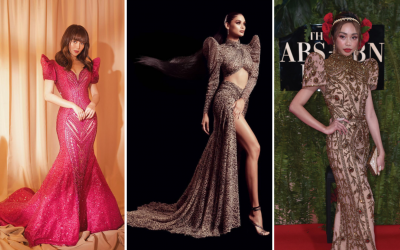 Dubai-based designers gowns shine at the ABS-CBN Ball 2019