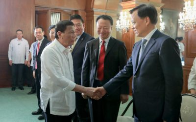 Chinese Communist Party members visit Duterte