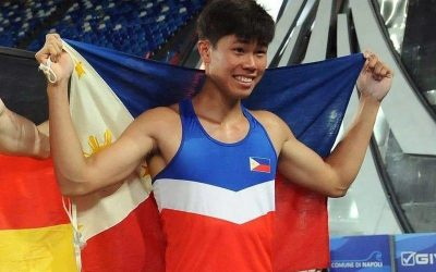 Filipino pole vaulter enters Top 10 world rankings