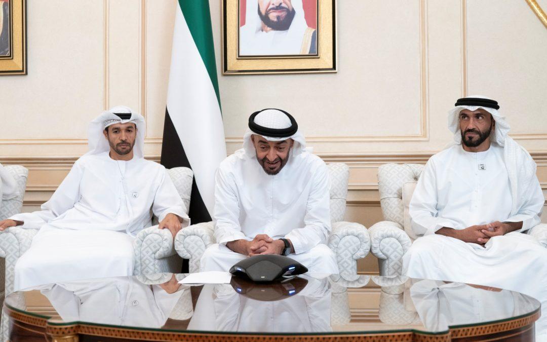 Abu Dhabi Crown Prince to Emirati astronauts before space flight: 'You both represent every Emirati'