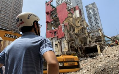 Sogo hotel in Malate collapses