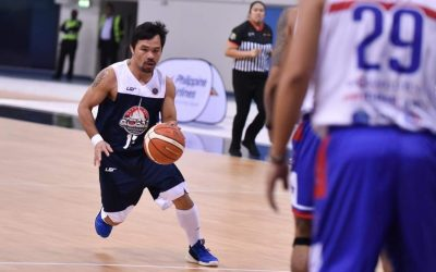 Pacman fires 42 shots as Team MPBL gets even with Dubai All-Stars at Hamdan Sports Complex