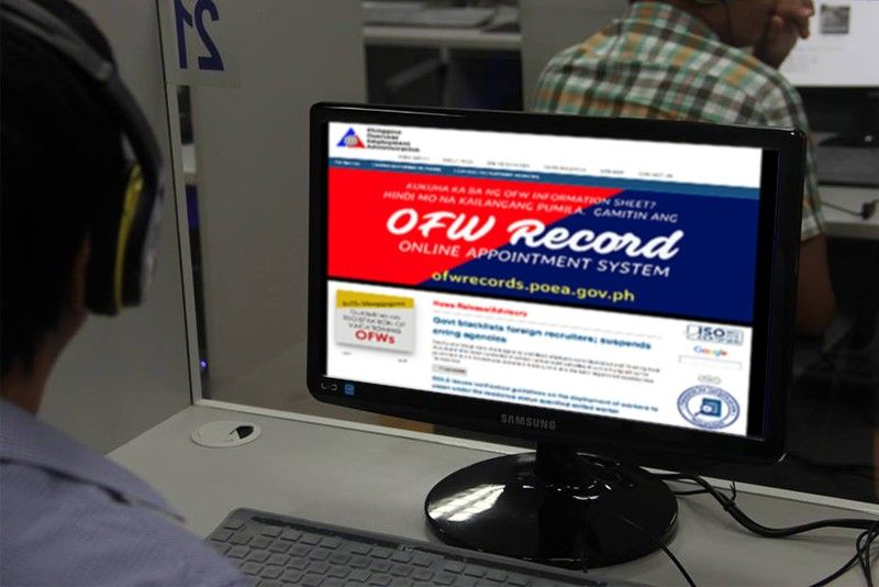 Online monitoring system for OFWs launched