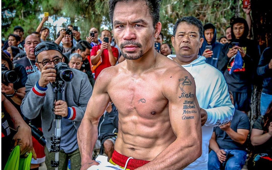 Pacquiao among ESPN top 10 boxers