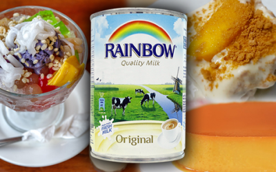 Popular Pinoy desserts made more delicious with Rainbow Milk
