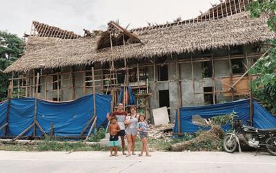 Andi Eigenmann's dream house in Siargao Island slowly turns to reality