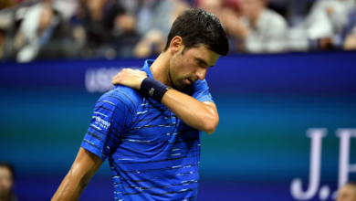 Photo of US Open defending champ Djokovic quits due to shoulder injury
