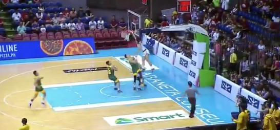 Ricci Rivero's high-flying dunk catches the eye of US sports website