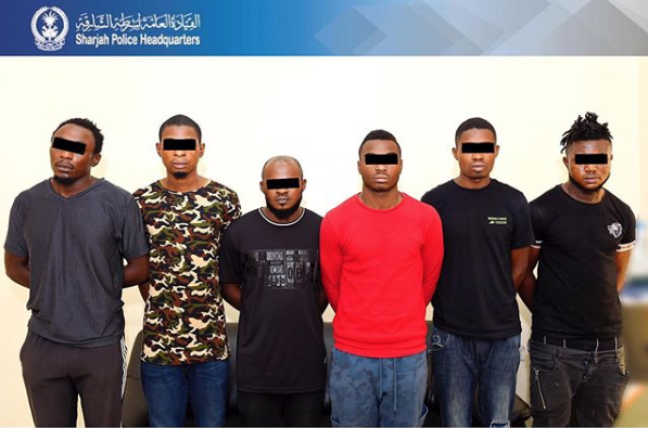 African gang arrested by UAE police for robbery cases
