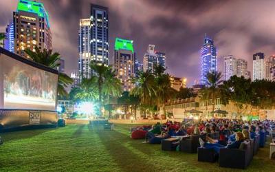 Outdoor cinema back in Dubai Marina