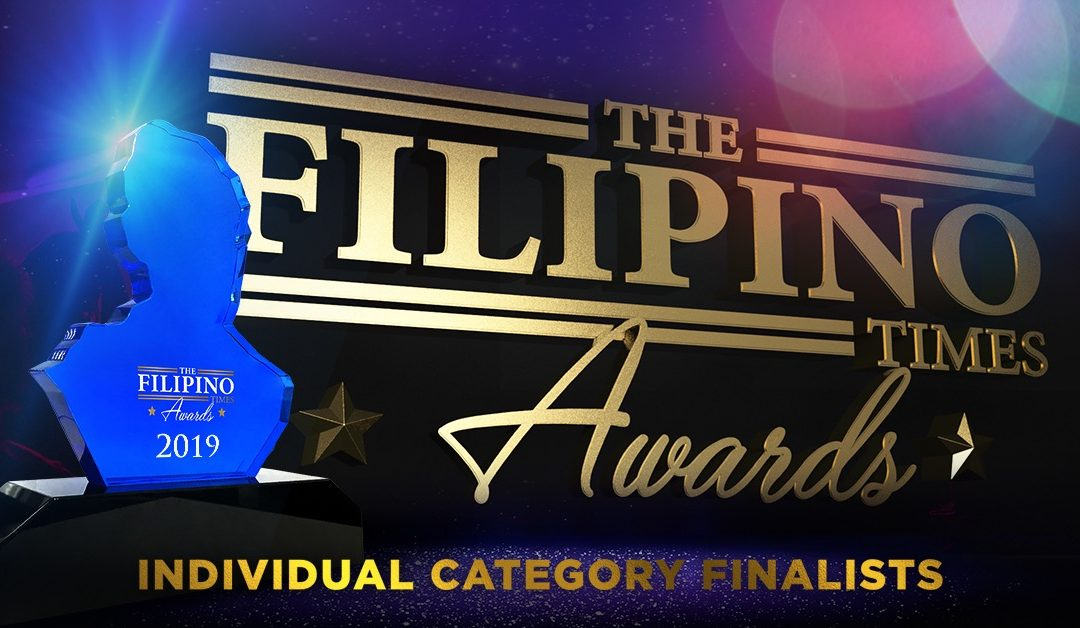 Introducing the finalists for The Filipino Times Awards 2019 Individuals Category