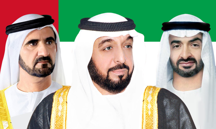 UAE leaders congratulate King Salman on Saudi Nat'l Day