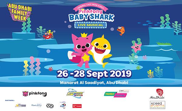 Fun-filled entertainment awaits kids, families at 'Pinkfong and Baby Shark' live musical in Abu Dhabi
