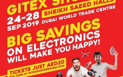 Grab exclusive deals on gadgets, smartphones, and electronics at GITEX Shopper 2019