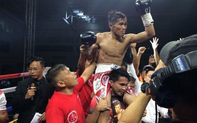 Bicolano becomes newest Filipino world boxing champion