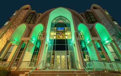LOOK: Places of worship in Abu Dhabi to light up in green until tonight for icensing ceremony