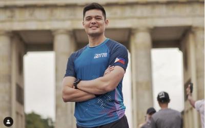 Dingdong Dantes joins Berlin Marathon