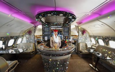 LOOK: Emirates posts A380 Diamond Lounge on Twitter