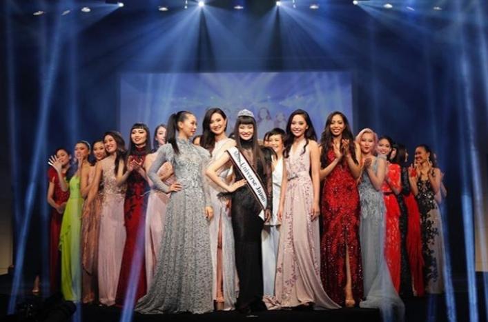 Filipino designer showcases stunning gowns in Miss Universe Japan 2019