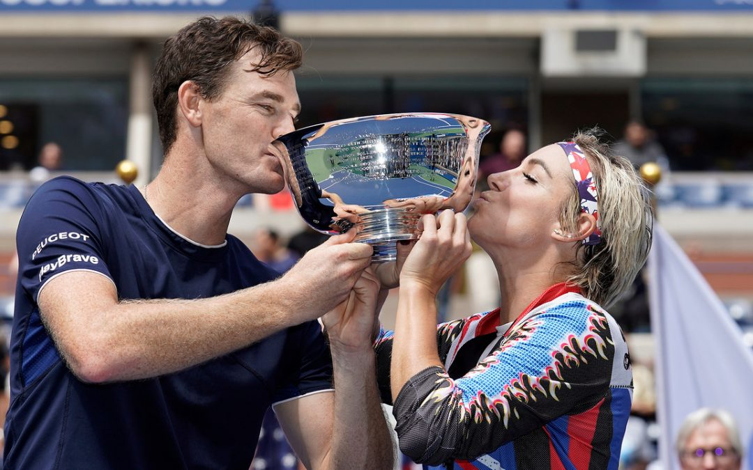 Murray, Mattek-Sands captures 2nd straight US Open mixed doubles title