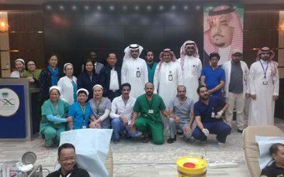 Filipino community participates in blood drive in Najran