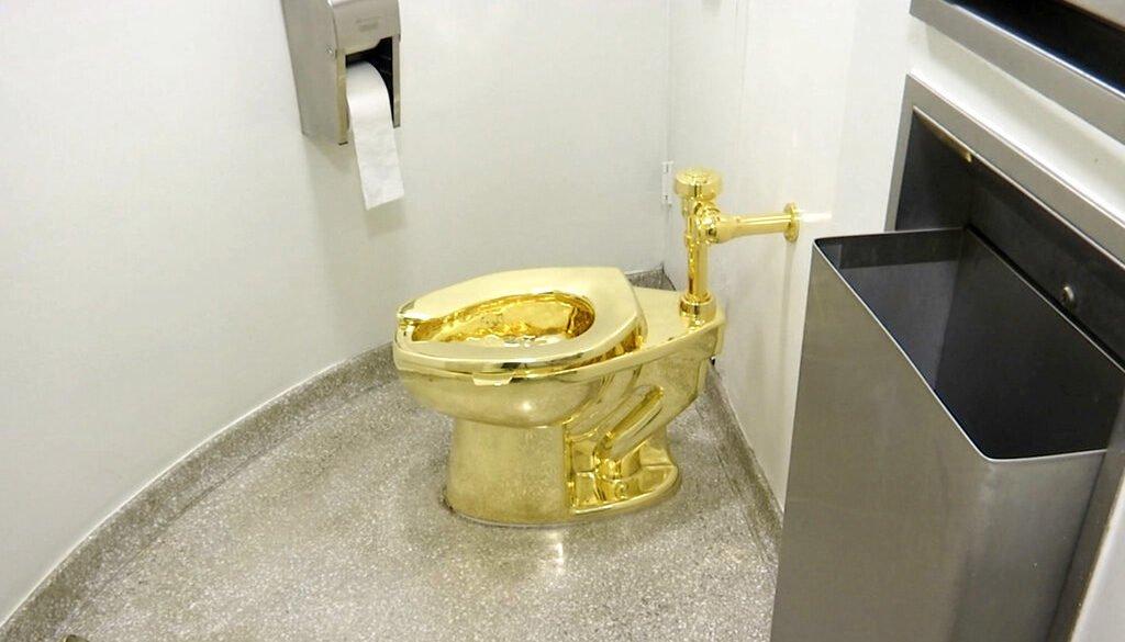 Toilet seat worth $5 million stolen from London palace