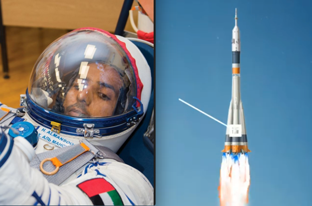 UAE milestone reached: First Emirati astronaut rocketed into space