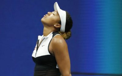 Hurting Osaka bows to Bencic