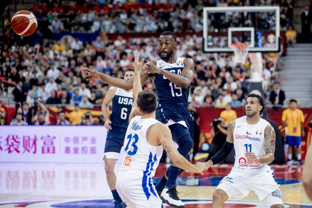 U.S. starts 3-peat drive in FIBA World Cup with blowout win over Czech