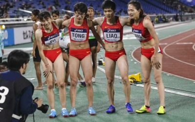 Winners in Chinese women's Track & Field look like men
