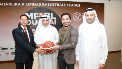 Photo of Pacquiao promises to 'put on a show' for his Pinoy fans at Hamdan Sports Complex tomorrow
