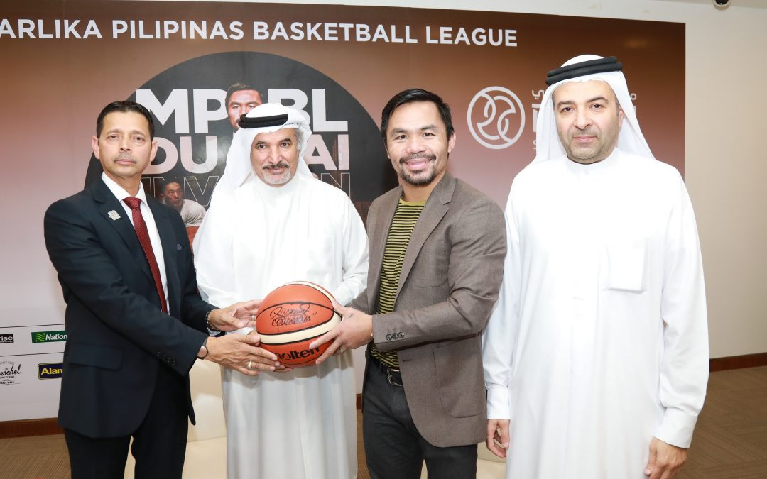 Pacquiao promises to 'put on a show' for his Pinoy fans at Hamdan Sports Complex tomorrow