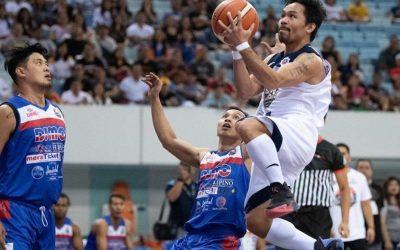 Pacquiao wows Pinoys at MPBL showdown
