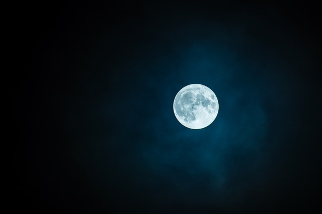 Full moon on Friday the 13th after 13 years
