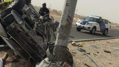 Photo of 20-year-old Emirati student dies as vehicle flips over