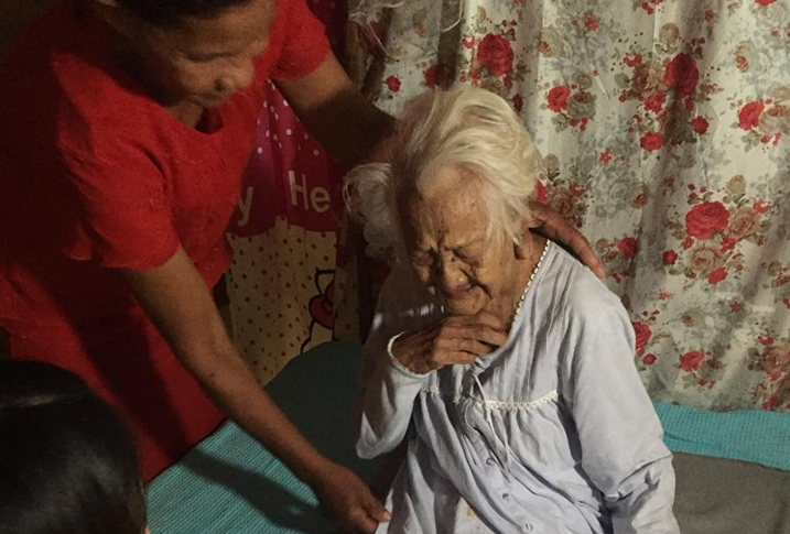 Oldest person in PH celebrates 122nd birthday