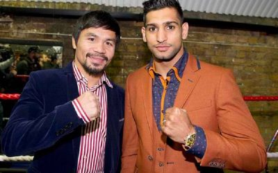 """Amir Khan asks Pacman: 'Are you interested in fighting me? You have my number."""""""