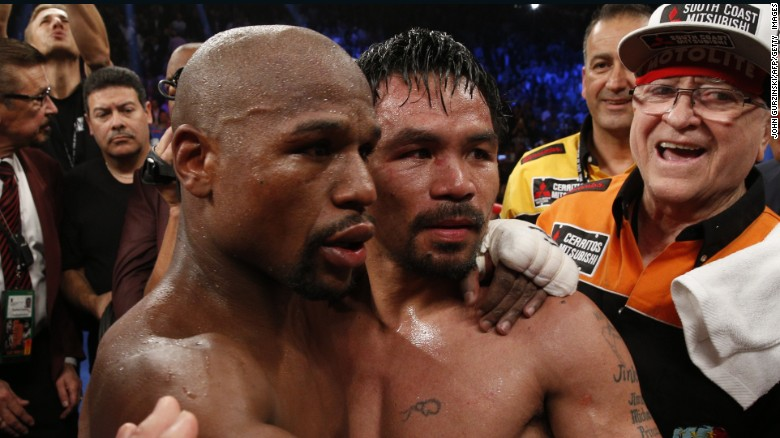 Pacquiao to Mayweather Jr.: 'Don't give promoters and the government a hard time'