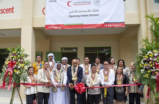 Emirates Red Crescent inaugurates school building in Taguig