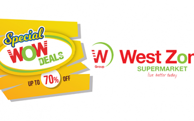 West Zone Special WOW Deals with items up to 70% off