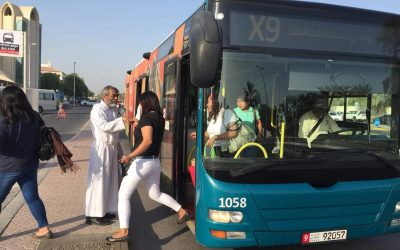 LOOK: Abu Dhabi launches dedicated buses headed to churches
