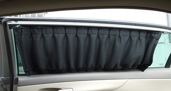 Saudi bans using curtains in car
