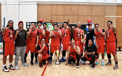 TUP Greyhawks:  ABA 2019 Interschool Champions