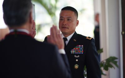 Soldier makes history as first Filipino army general officer in Hawaii