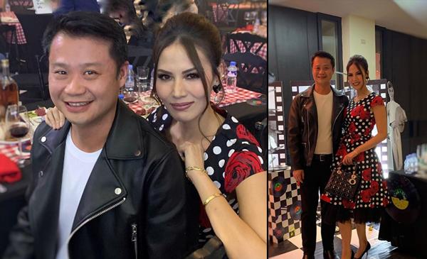 LOOK: Beauty queen Bianca Manalo shares photo with Senator Win Gatchalian